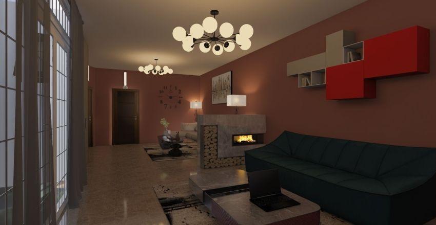 Abdelkarim emigré Interior Design Render