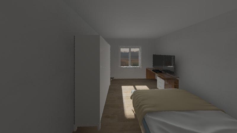 simone aloia Interior Design Render