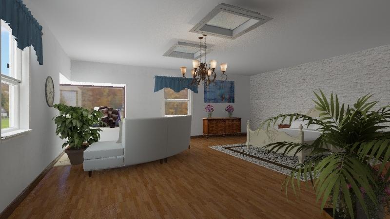 First time designing Interior Design Render