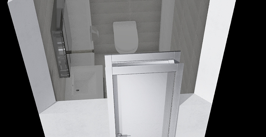 WC-2 Interior Design Render