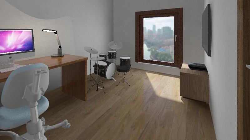 Leonardo Giuriati Interior Design Render
