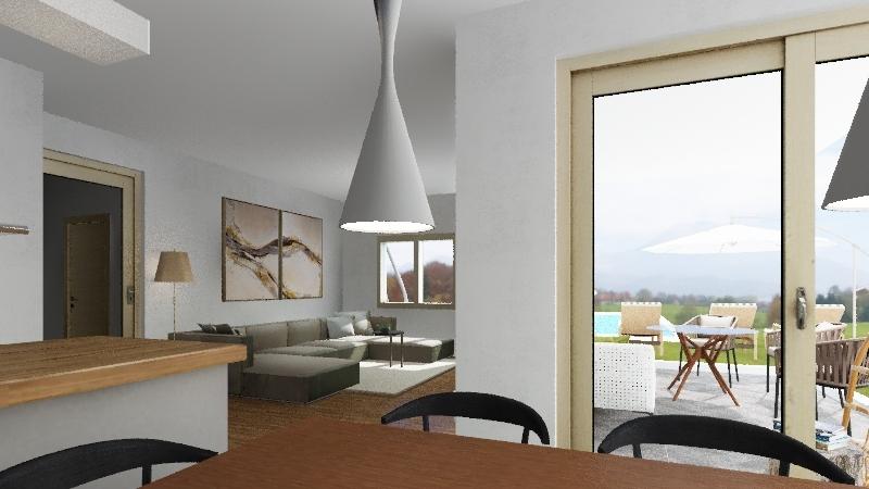 HIŠA 2 Interior Design Render