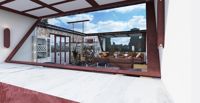 attico.. Interior Design Render