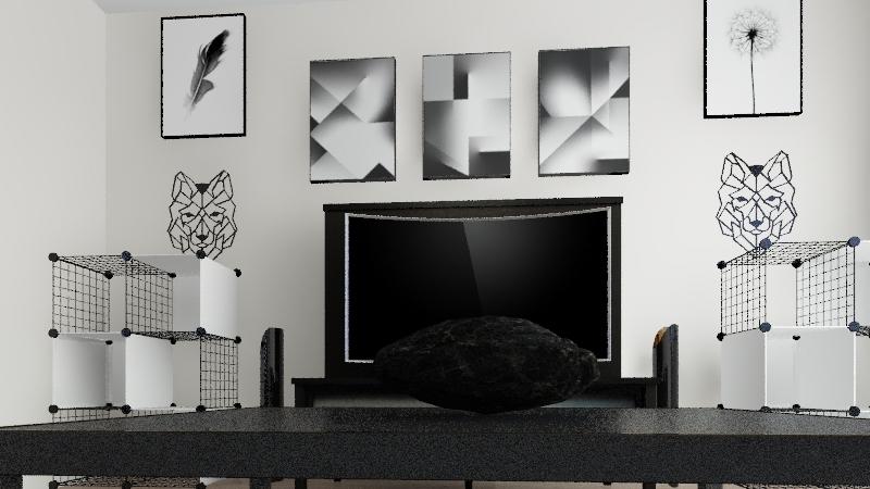 LIVING ROOM 2020 Interior Design Render
