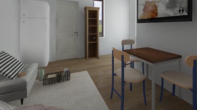 Apartment number nine Interior Design Render