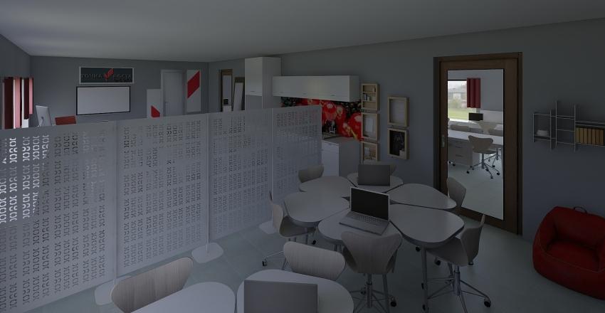 Tochka_rosta_GYM Interior Design Render