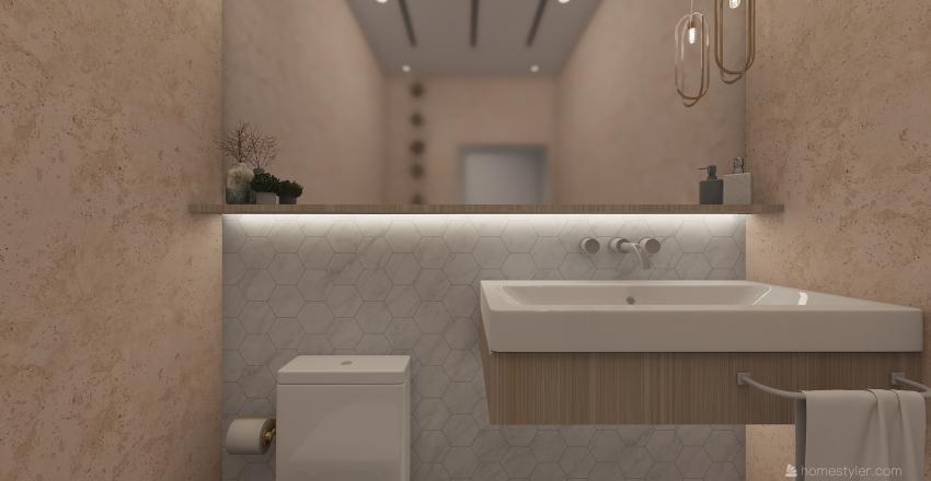 banheiro rose Interior Design Render