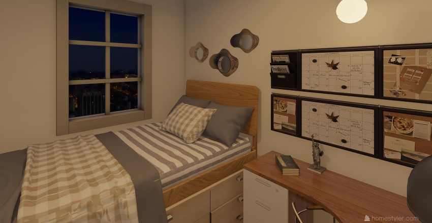 Apt. 17 Interior Design Render