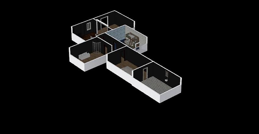 Late Night Interior Design Render