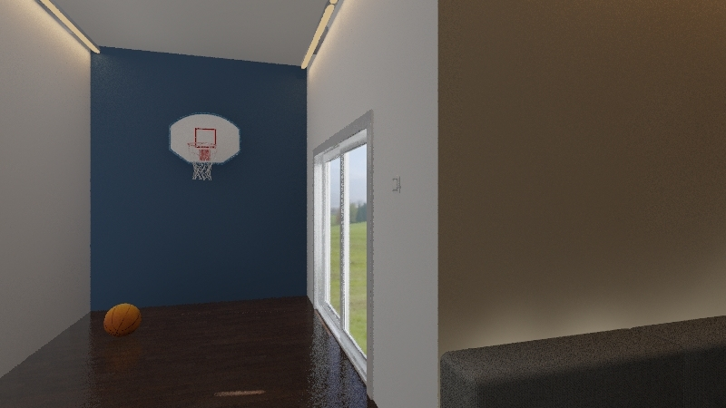 basement  Interior Design Render