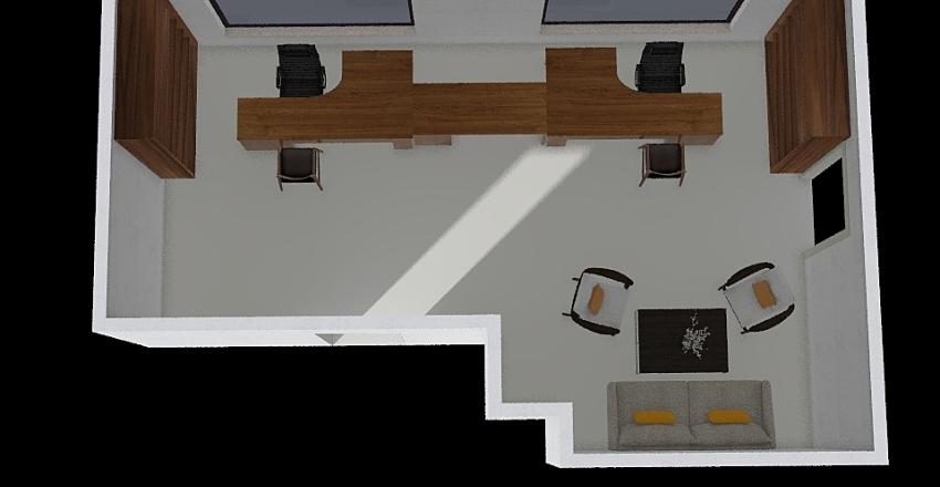 Biuro Interior Design Render