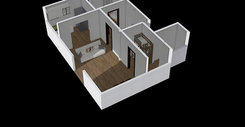 big boi floor plan Interior Design Render