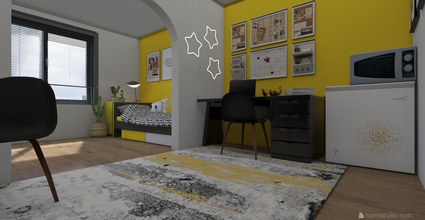 University dorm 1 Interior Design Render