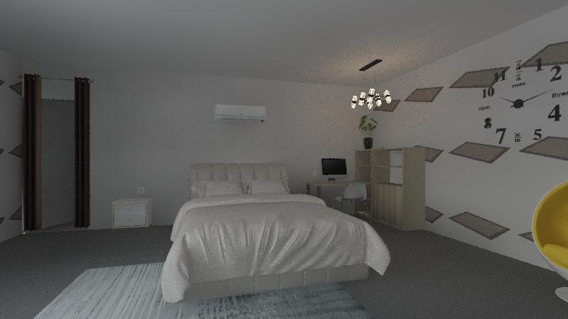 la meva habitació Interior Design Render