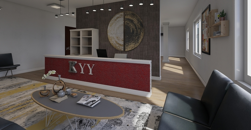 Asdhoo Office Building Interior Design Render