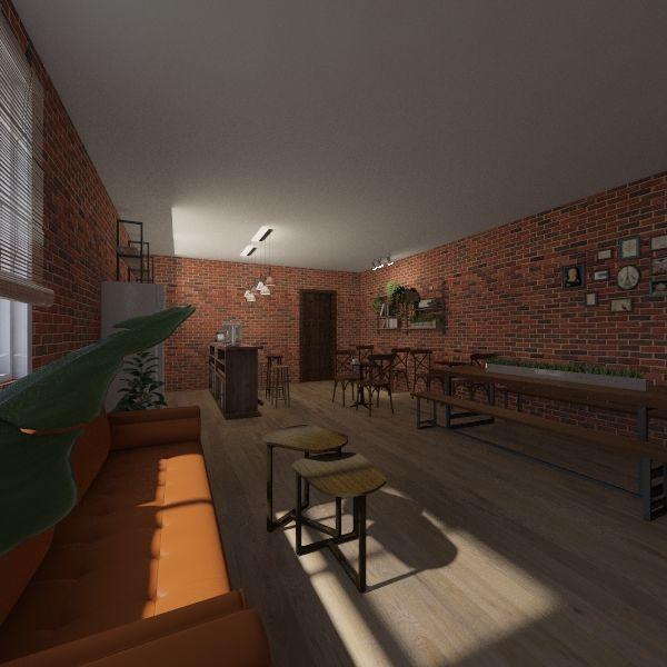 sofa Interior Design Render