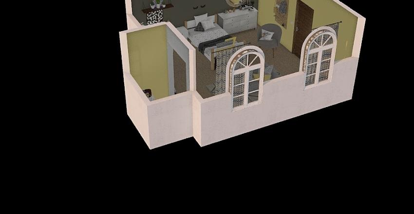 Big Family House Interior Design Render