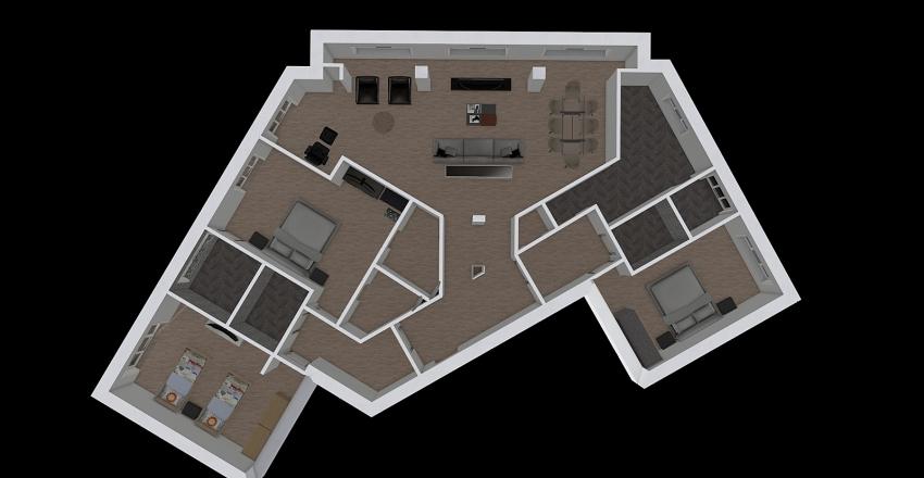 Milano 2 Interior Design Render