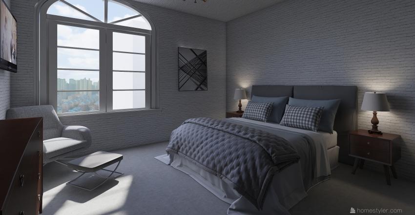 apartment 16 Interior Design Render