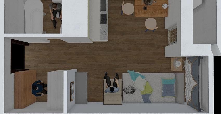 22,6 Interior Design Render