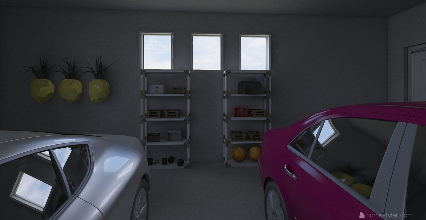 2020 house Interior Design Render