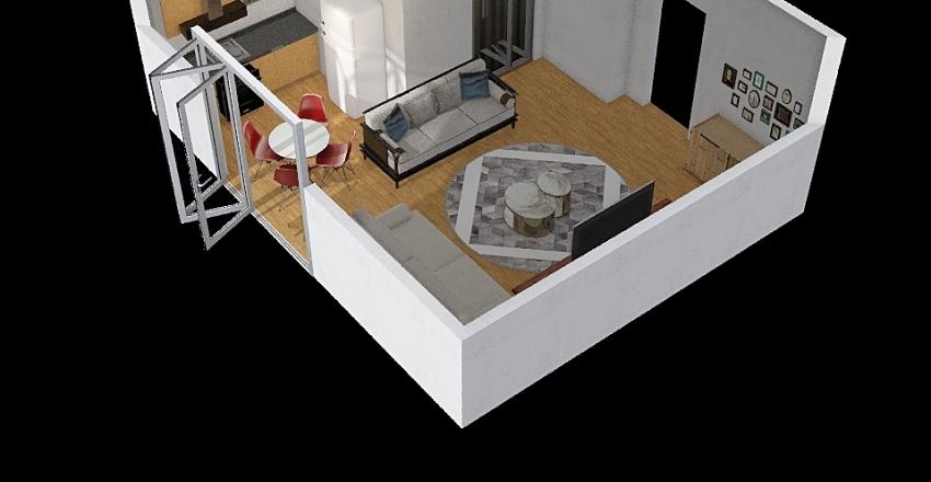 berna3 Interior Design Render