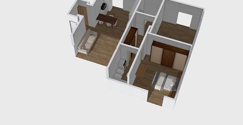 Casa attico SMDP Interior Design Render