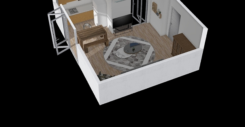 Berna 2 Interior Design Render