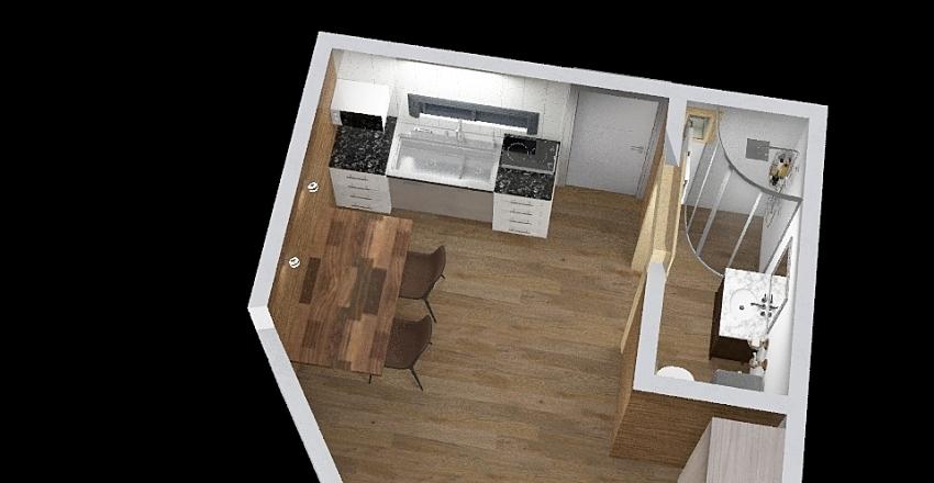 יחידה Interior Design Render