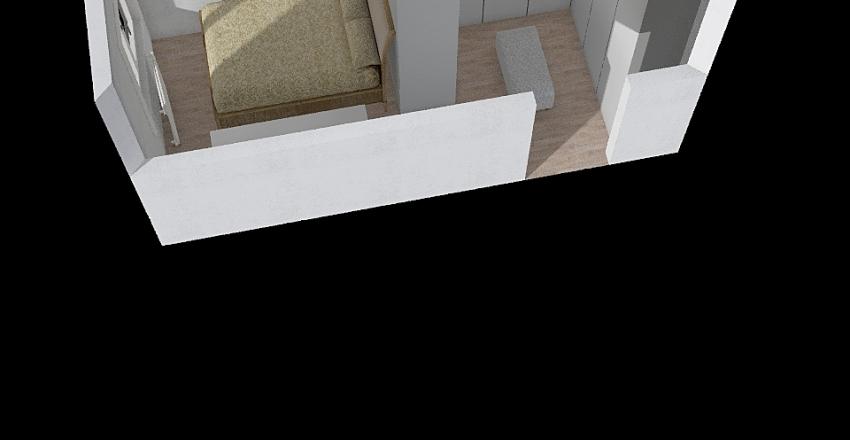 Yatak Odası 4 Interior Design Render