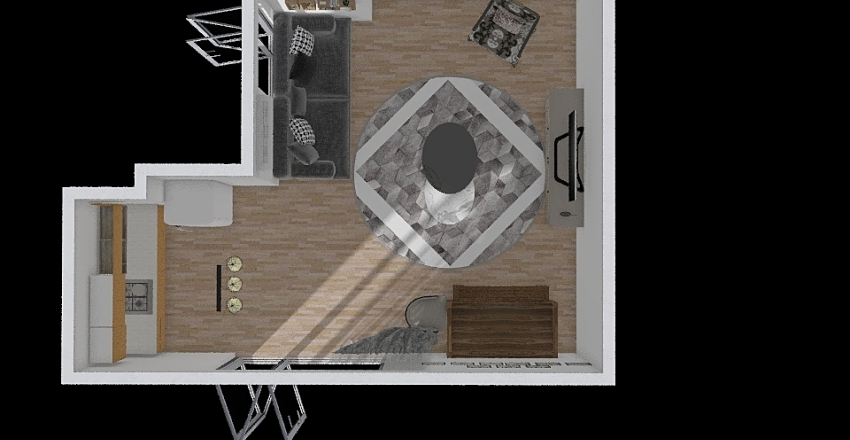 burak bh Interior Design Render