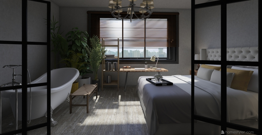apartment 17 Interior Design Render