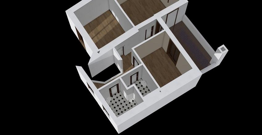 Mellana 3 camere Interior Design Render