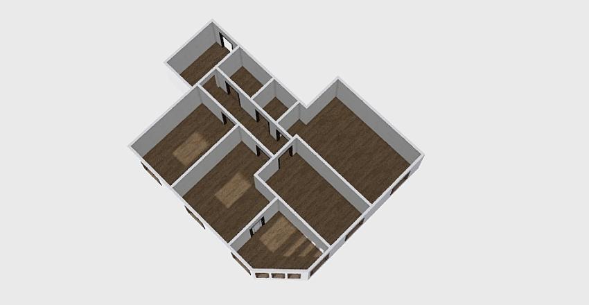 3-комн_0234 Interior Design Render