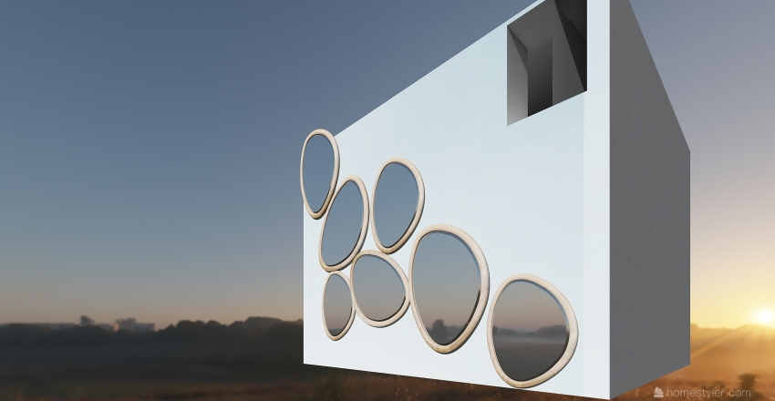 mod Interior Design Render