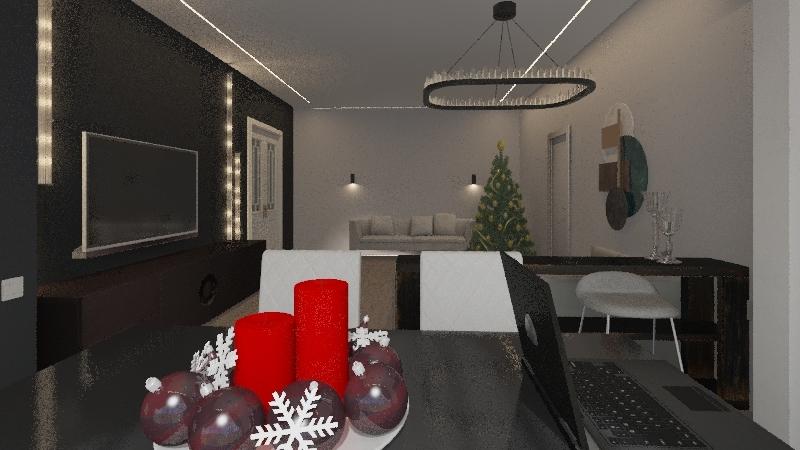ансор Interior Design Render