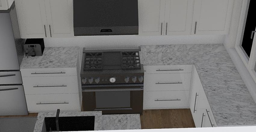 Kitchen Floor plan 36 Range R1 Interior Design Render