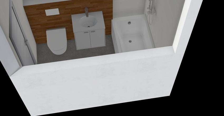 Łazienka strzelce Interior Design Render