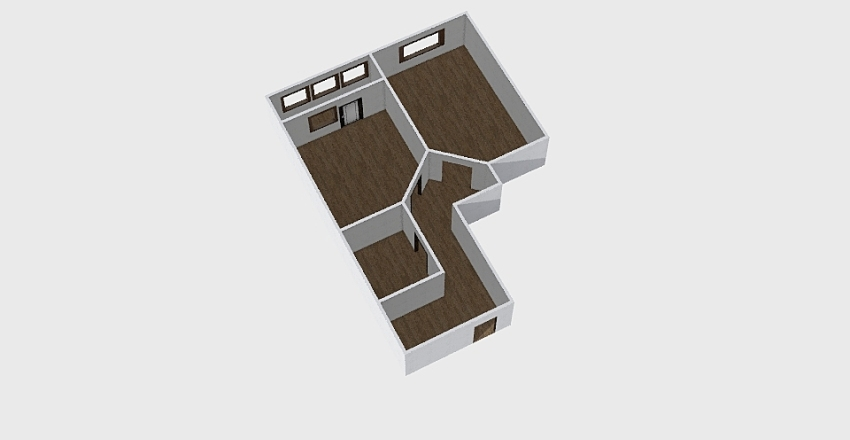 1-комн_0363 Interior Design Render