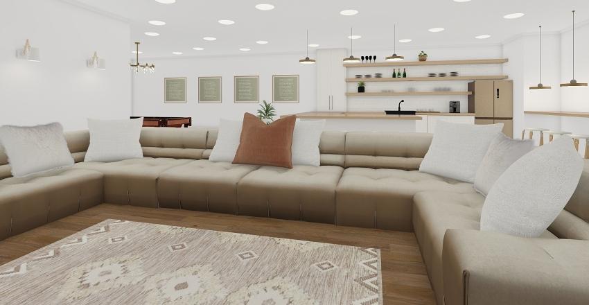 OLD - Basement Interior Design Render