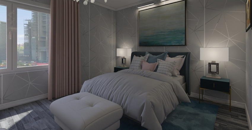 Girl bedroom / MODERN Interior Design Render
