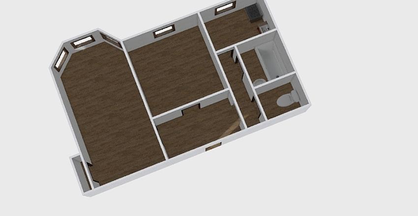 2-комн_0340 Interior Design Render