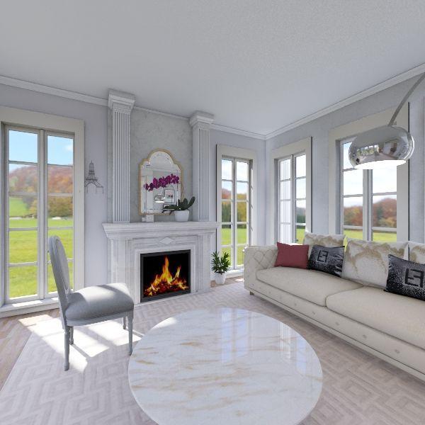 french final Interior Design Render