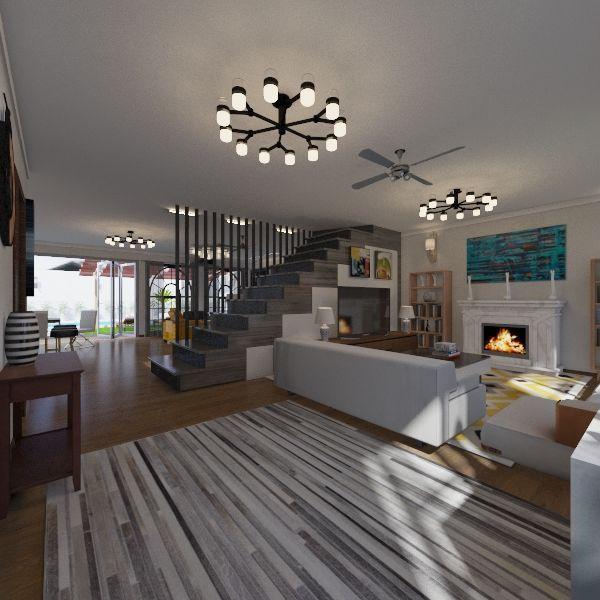casa san luis  Interior Design Render