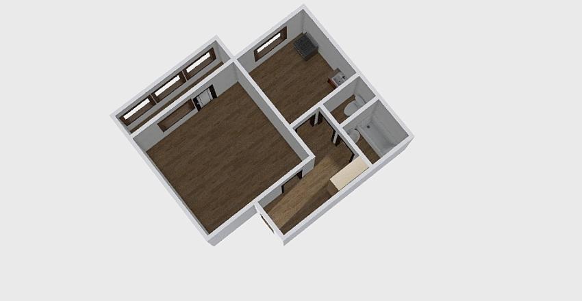 1-комн_054_3 Interior Design Render