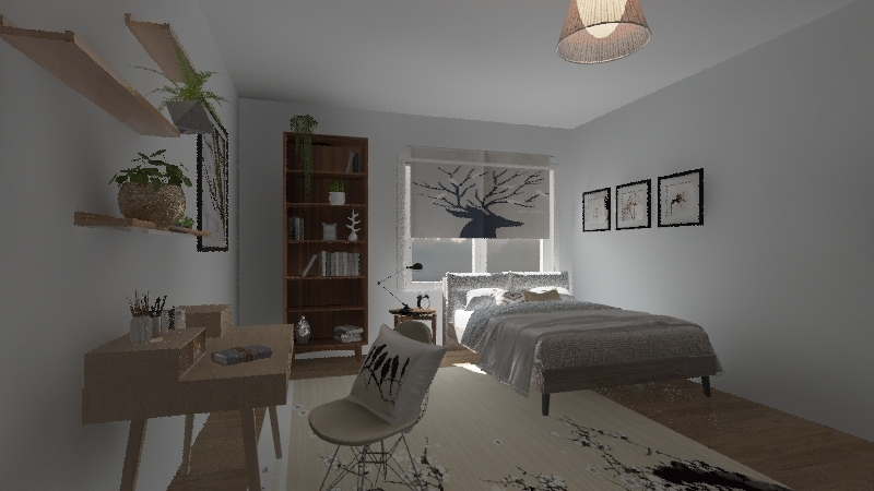 раз Interior Design Render