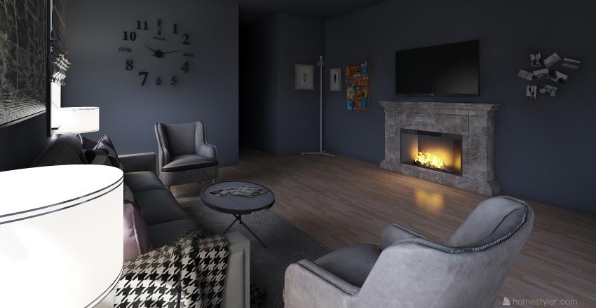 apartment 18 Interior Design Render