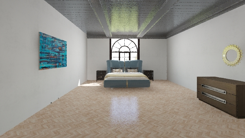 modern with personality Interior Design Render