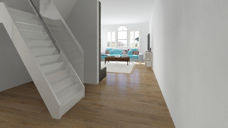 Spat house Interior Design Render