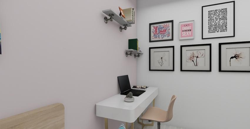 CLEAN BEDROOM 2.1 Interior Design Render